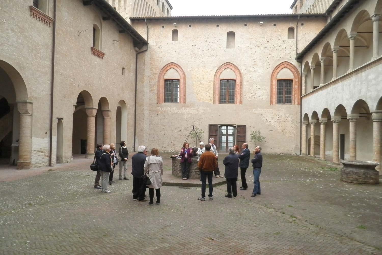 Rosso Farnese: Torre Chiara e Sala Baganza