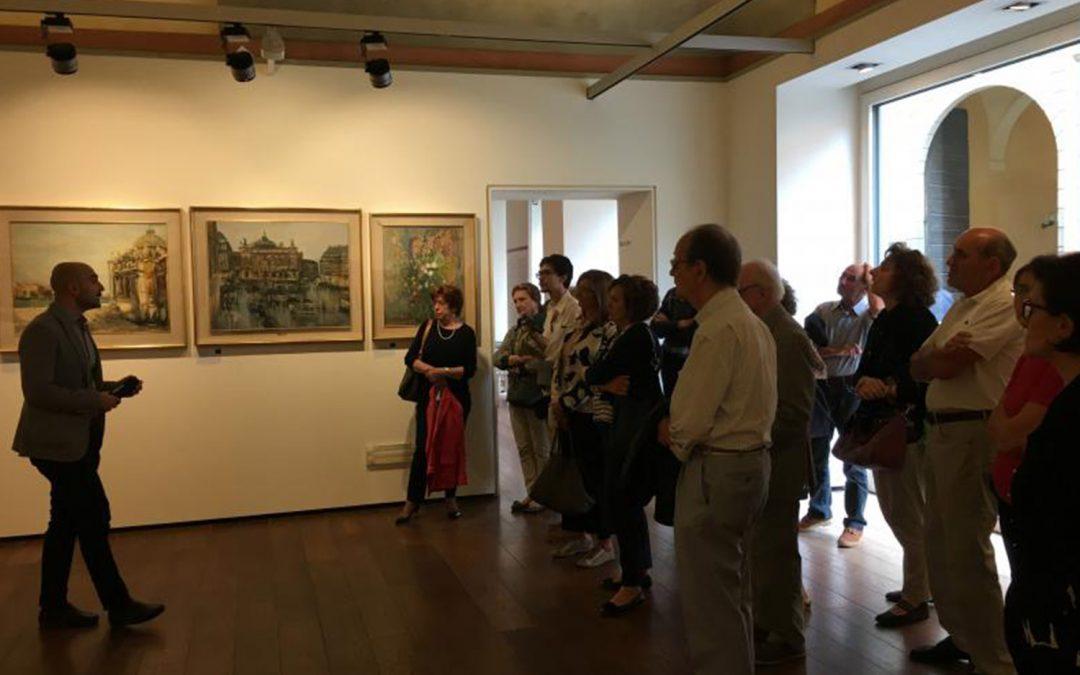 """Visita guidata alla mostra """"Trenta opere di artisti piacentini del Novecento per il trentennale del Rotary Farnese"""""""