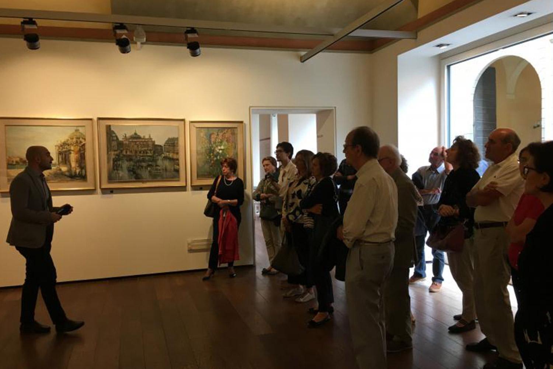 visita-mostra-trenta-opere-artisti-piacentini-rotary-farnese-1
