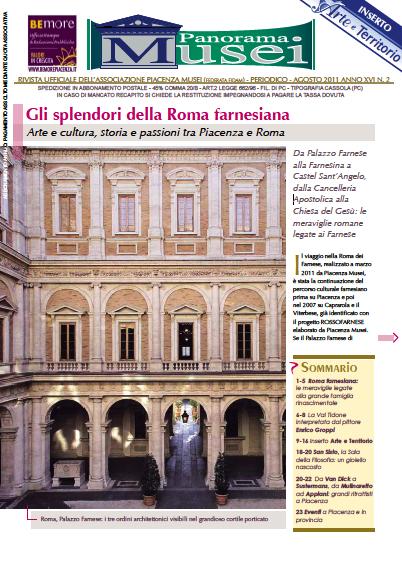 Panorama Musei, disponibile il nuovo numero