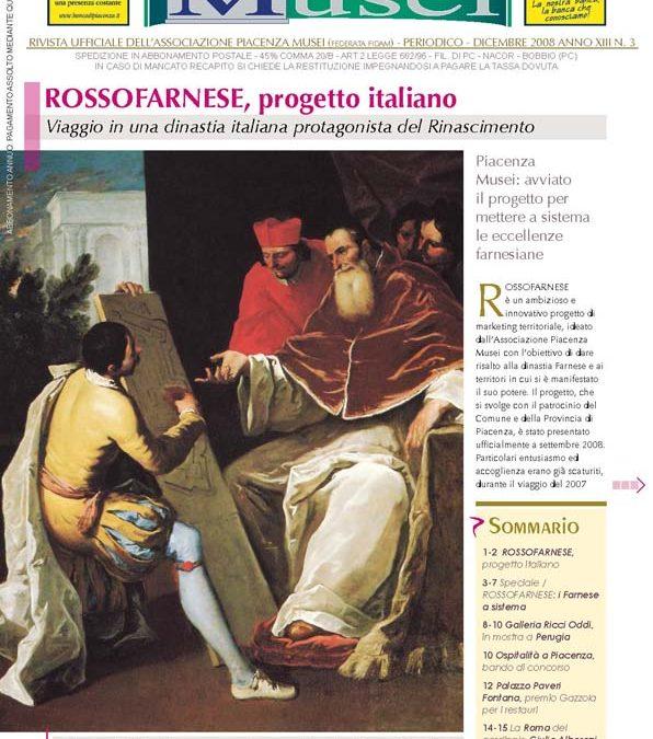 Avviato ROSSOFARNESE, progetto italiano