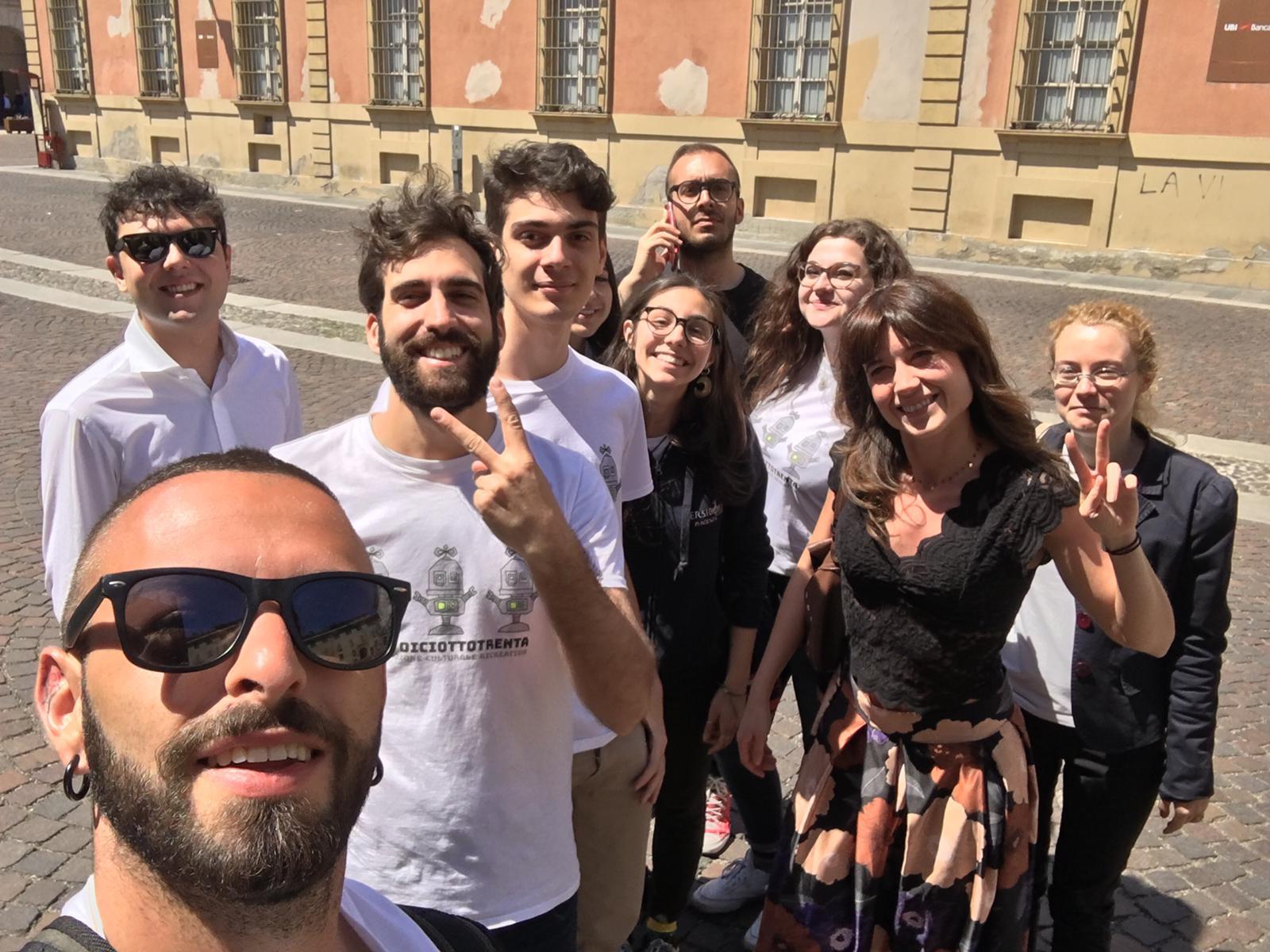 Gruppo giovani Piacenza Musei APS
