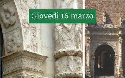 Piacenza attorno a Palazzo Landi