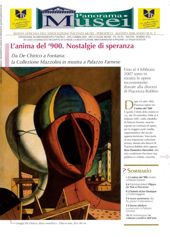 Rivista Rivista Panorama Musei agosto 2006