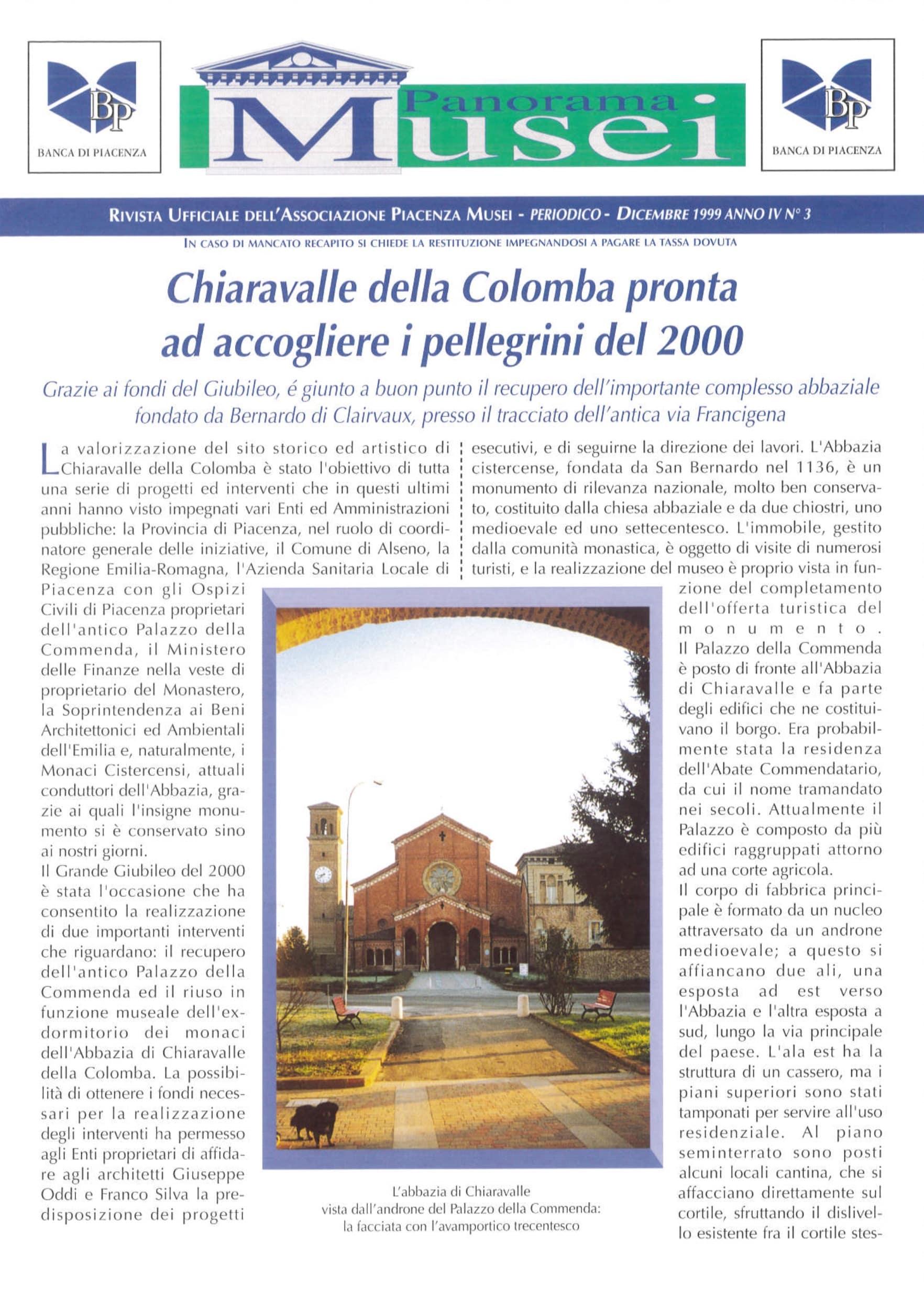 Panorama Musei Dicembre 1999