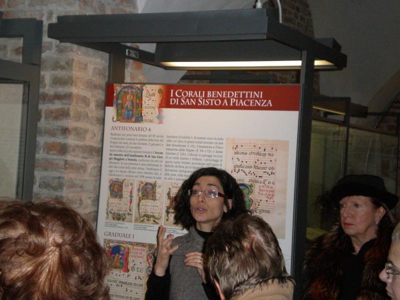 Visita guidata ai corali benedettini di San Sisto a Piacenza