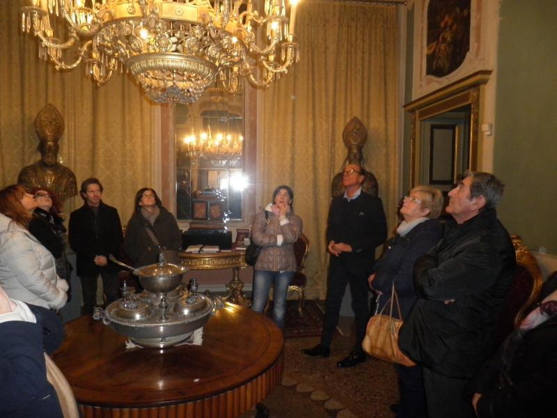 Il nuovo allestimento di Palazzo Costa