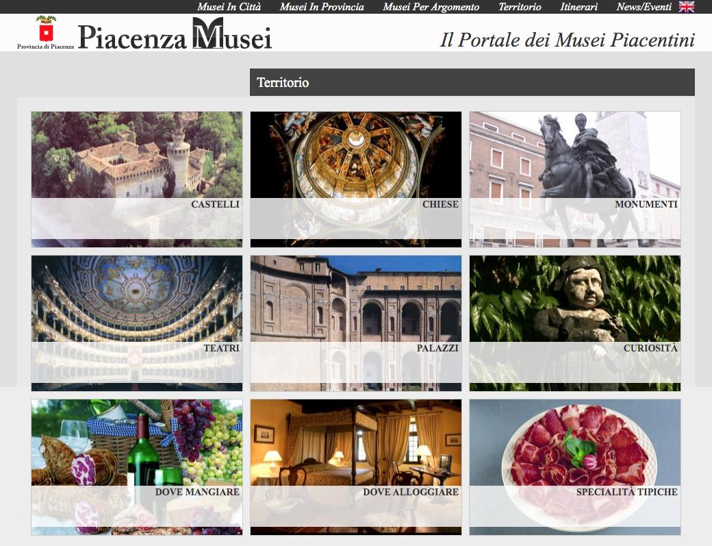 Portale Piacenza Musei