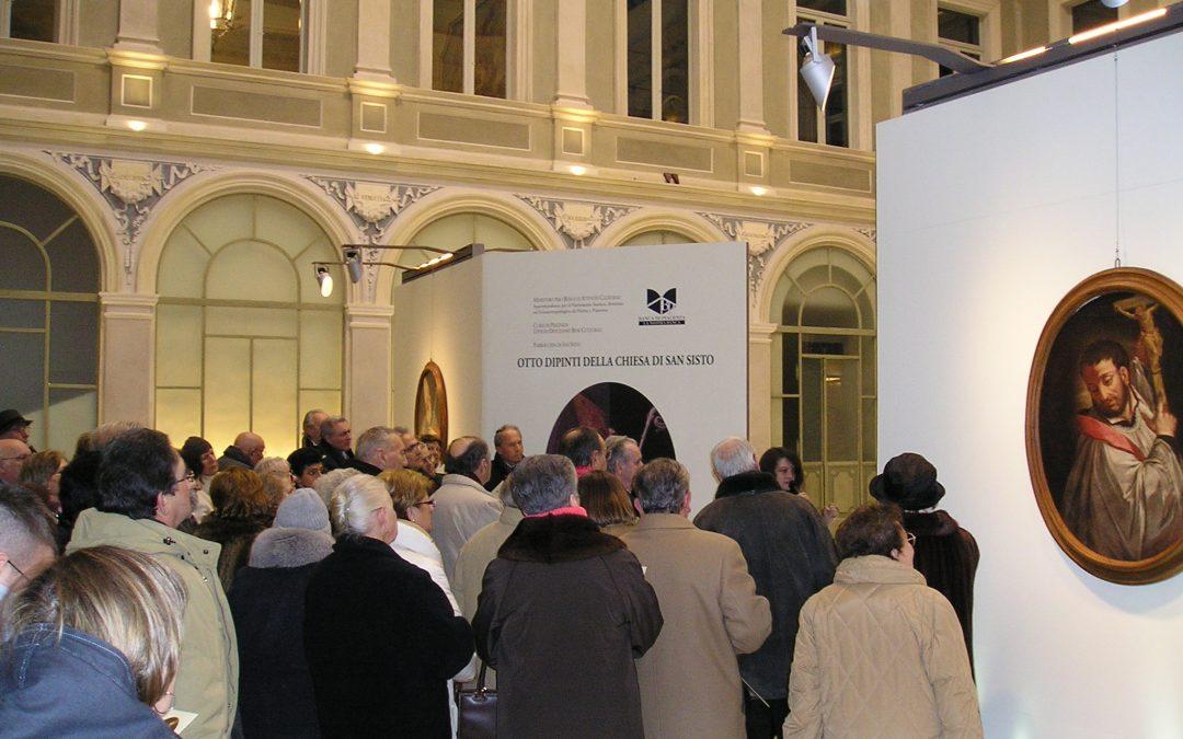Ovali restaurati di San Sisto a cura di Emanuela Coperchini