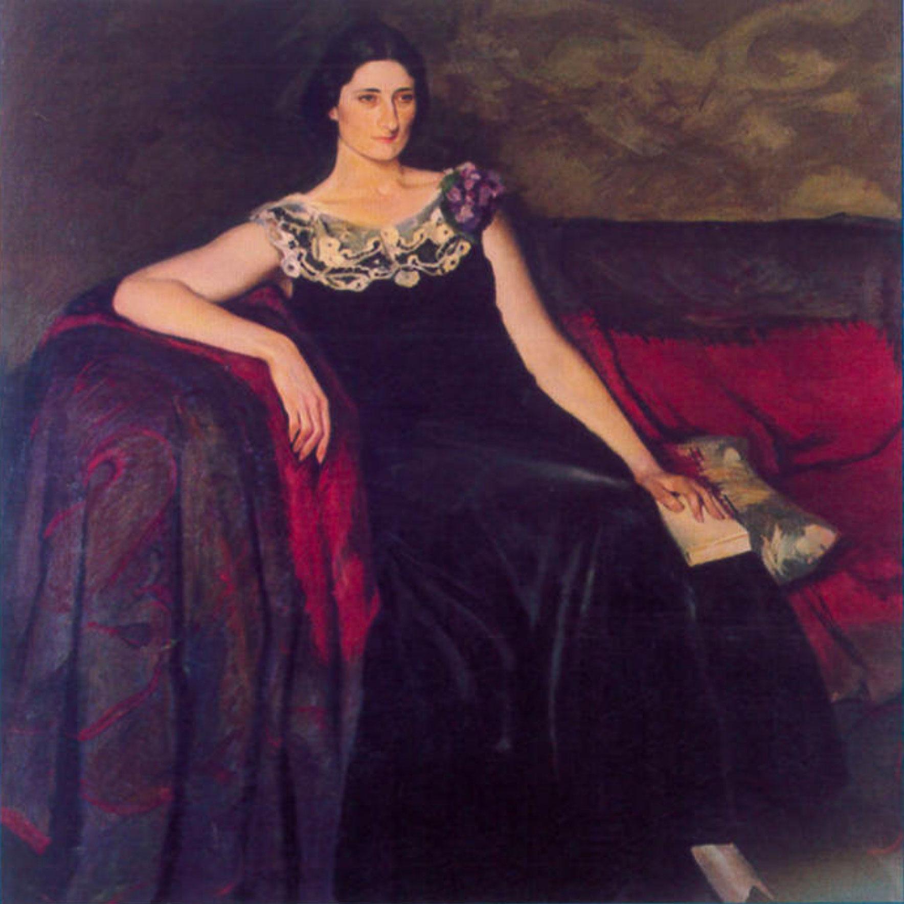 Ritratto della signora bionda di Luciano Ricchetti
