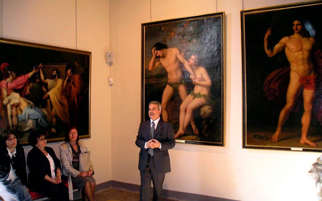 Visita alla Pinacoteca del Museo Gazzola – a cura di Stefano Pronti