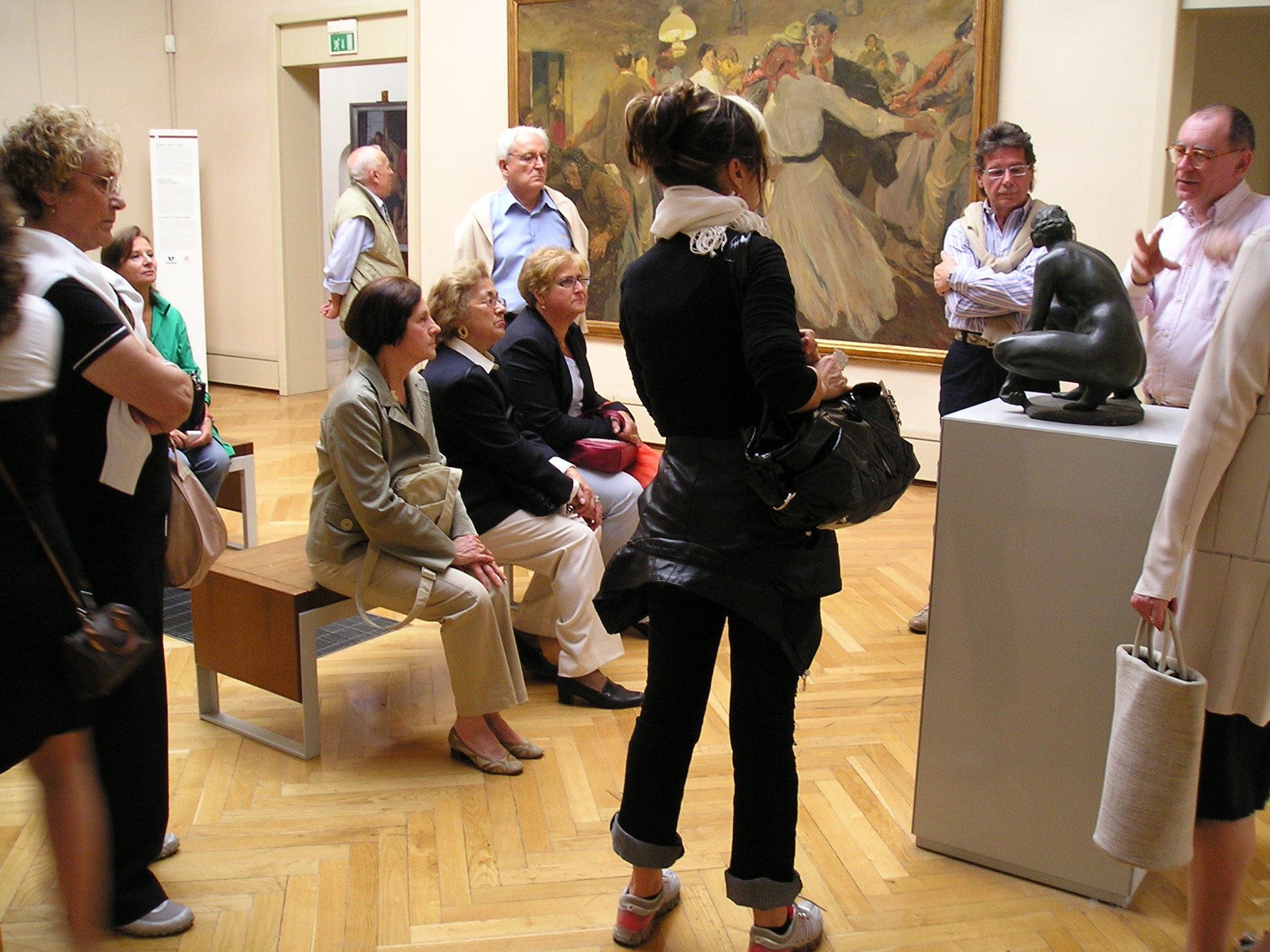 Visita guidata alla sezione delle Sculture della Galleria Ricci Oddi di Piacenza