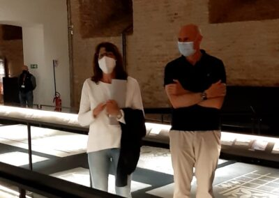 visita guidata sezione archeologica palazzo farnese 6